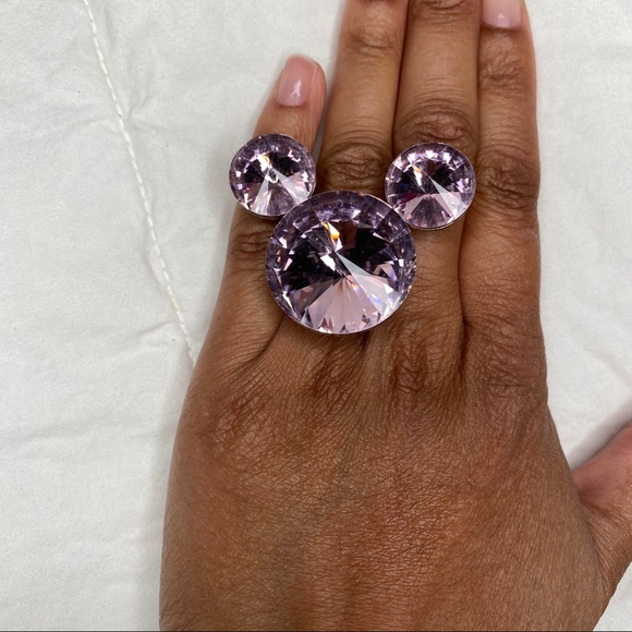 Jewelry - Pink Mickey Mouse Costume Cocktail Ring